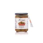 Bild zeigt mit Paprika marinierte Oliven von spanissimo