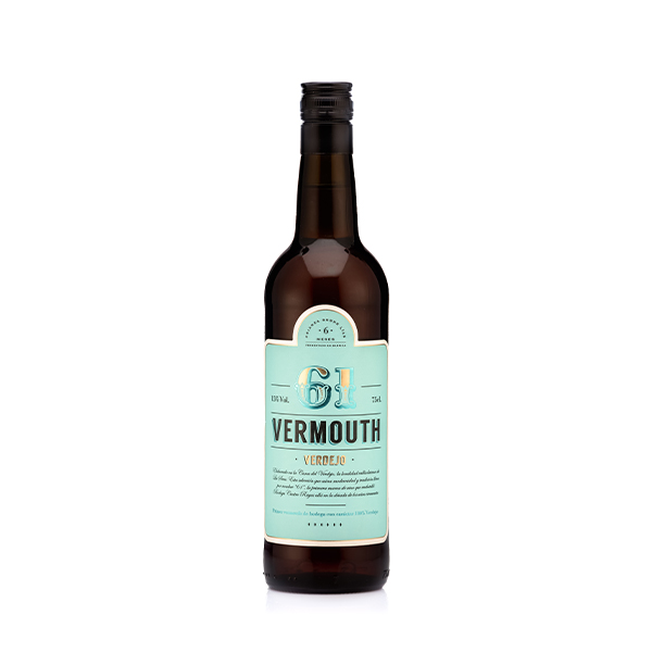 Bild zeigt Vermouth61 bzw. Vermouth 61 von bodega cuatro rayas im Sortiment von spanissim.
